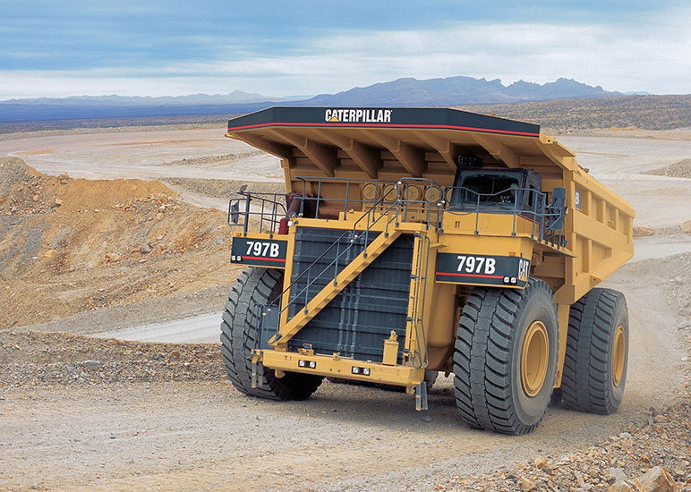 CAT 797PX12 Call for SpecificsRecommended Fixtures