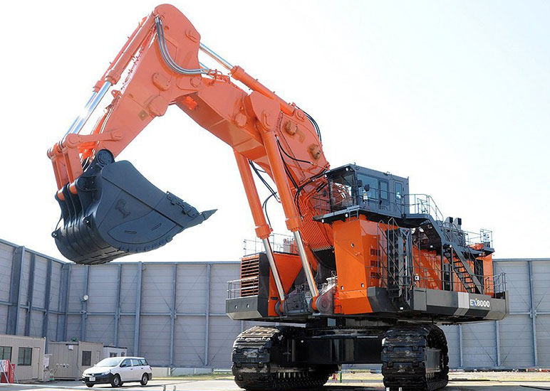 Hitachi EX8000PX18 & PX12Recommended Features