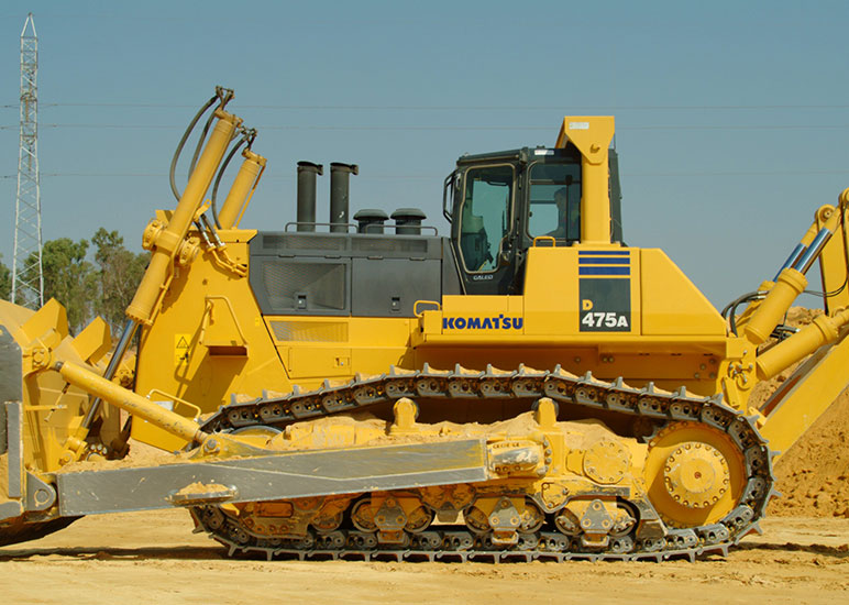 Komatsu D475APX12 & PX4Recommended Fixtures